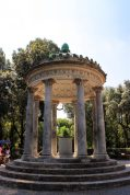 last day, relax in villa borghese