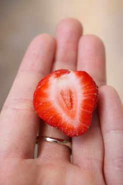 sweet and tasty strawberry