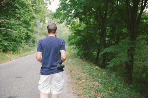 he walks