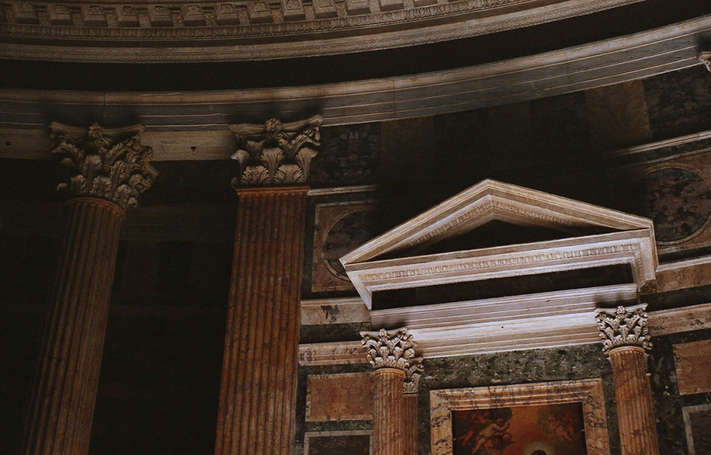Arhitektura i osvetljenje_Rim_Panteon