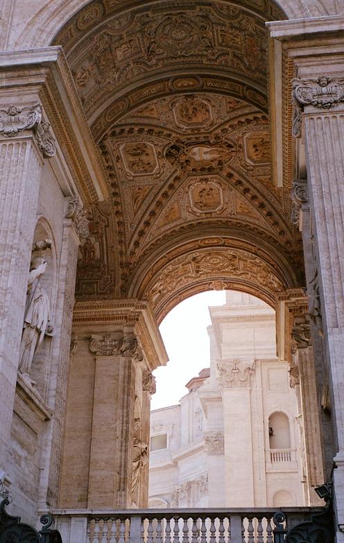 Arhitektura i osvetljenje_Vatikan_Crkva Sv Petra