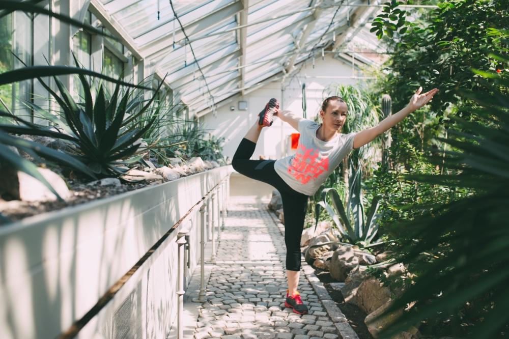 yoga garden